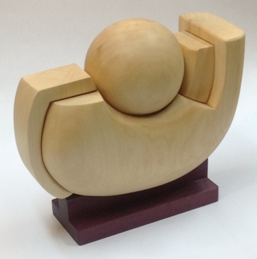 sanderson-the automated artist in contemplation-basswood-heart wood