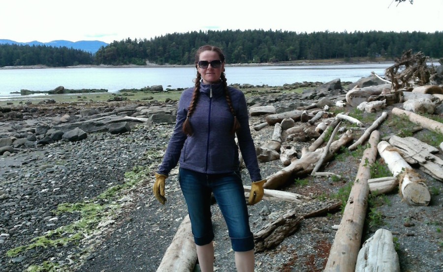 hunting for driftwood- may 2016