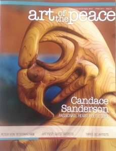 sanderson-art of the peace-issue 26-feature artist