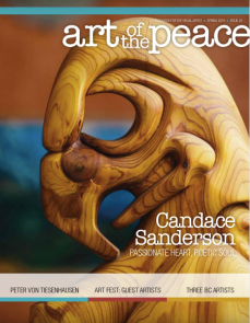 sanderson article in art of the peace magazine