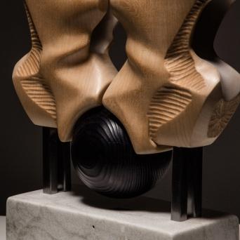 Sanderson Torso, A Conversation abstract sculpture